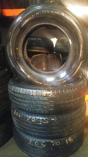 205/65/15 Hankook tire set for Sale in Springfield, MA