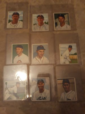 17 vintage baseball cards for Sale in Columbus, OH