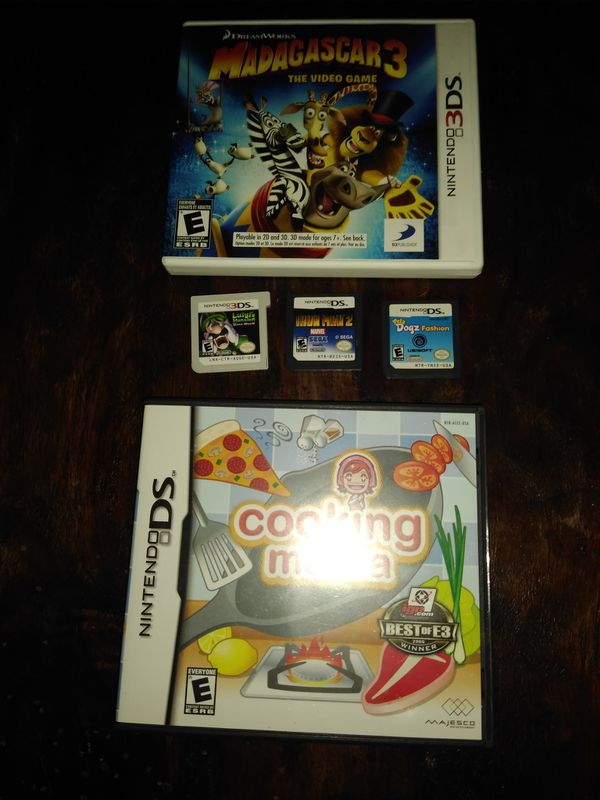 Nintendo 3DS GAMES. In perfect condition.