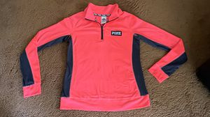Victoria's Secret Pink Ultimate Long-Sleeve 1/4 Zip Top Size Large NICE! for Sale in Seagoville, TX