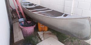 14 ft aluminum canoe/ boat for Sale in Chandler, AZ