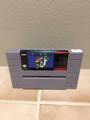 Super Mario world SNES for Sale in Lynnwood, WA