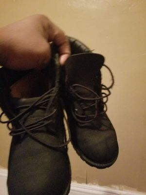 Timberland black boots for Sale in Cleveland, OH