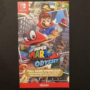 Nintendo Switch - Super Mario Odyssey for Sale in Chandler, AZ