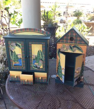 Mini shelves -hand painted for Sale in Dinuba, CA