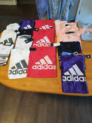 Adidas shirts for sale for Sale in Milwaukee, WI