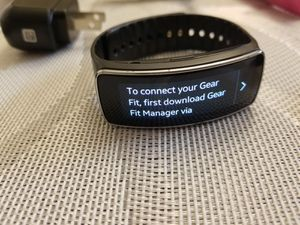 Samsung Gear Fit watch for Sale in Channelview, TX