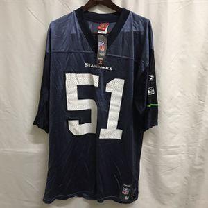 Reebok NFL Seattle Seahawks Tatupu #51 Jersey Men's Medium Printed for Sale in Seattle, WA