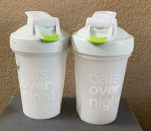 2 oats overnight blender cups for Sale in Plano, TX