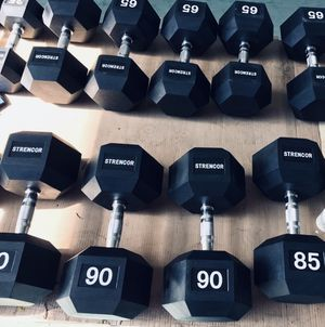 85¢ per LB Strencor Heavy Dumbbells 80 to 100 lbs for Sale in Queens, NY