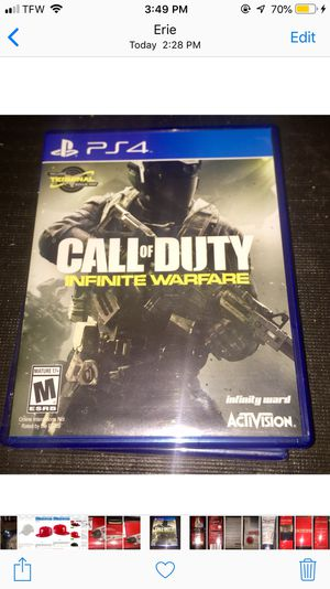 Call of Duty Infinite Warfare PS4 for Sale in Erie, PA