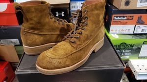 New Fyre Leather Tan Work boots Size 10 for Sale in Los Angeles, CA