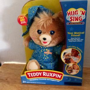 Teddy Ruxpin Hug'N'Sing for Sale in Lomita, CA