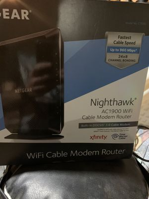 Netgear nighthawk router for Sale in West Chester, PA