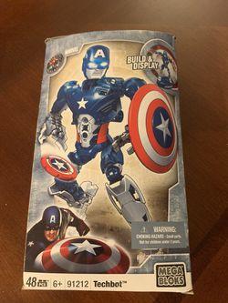 MEGABLOKS Captain America techbot for Sale in San Leandro,  CA