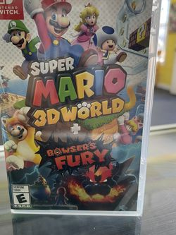 Super Mario 3D World + Bowser's Fury Nintendo Switch BRAND NEW AND SEALED for Sale in Waco,  TX
