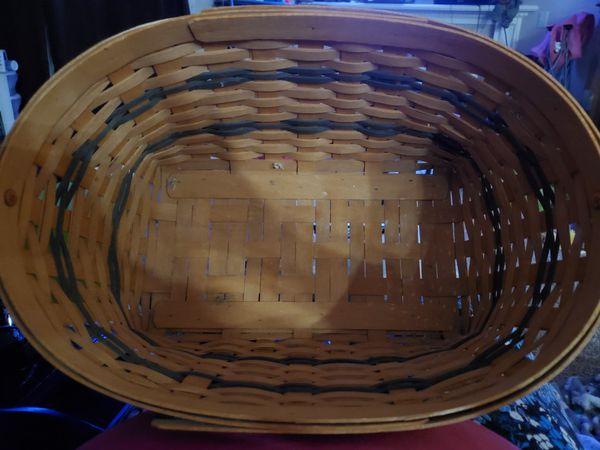Longaberger basket signed