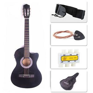 Acoustic electric guitar. NEW! With bag and tuner! for Sale in Sherrills Ford, NC