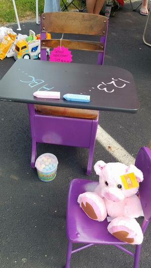 Antique school desk for Sale in Prospect, OH