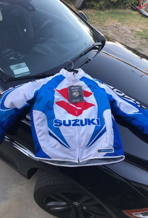 Suzuki motorcycle jacket brand new originally paid 300$ selling for 200$ for Sale in Los Angeles, CA