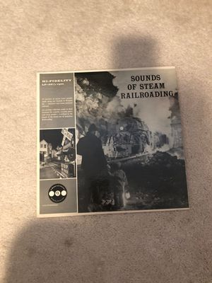 Sounds of steam railroading record for Sale in Puyallup, WA