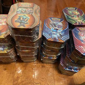 Pokemon TCG Tins for Sale in St. Petersburg, FL