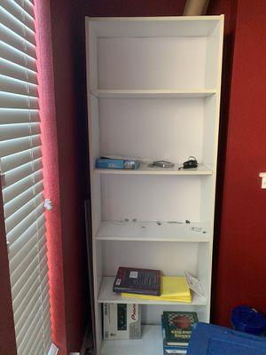 White light bookshelves for Sale in Saginaw, TX