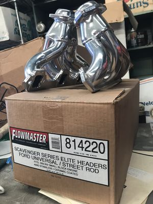 Flowmaster Shorty headers For 289 to 302 early small blocks for Sale for sale  El Monte, CA