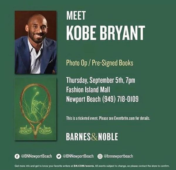 KOB BRYANT LAKERS AUTOGRAPH LEGACY and the QUEEN BOOK