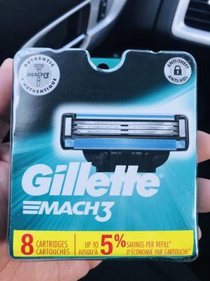 Gillette mach3 razors for Sale in Pico Rivera, CA