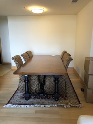 Long Wood Dining Table for Sale in Bethesda, MD