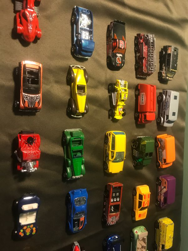 Hot Wheels & Matchbox Cars & Trucks 63 Pieces All Together
