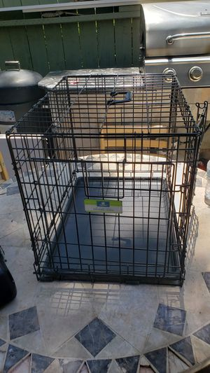 Folding cage for small dog with 2 exits for Sale in Anaheim, CA