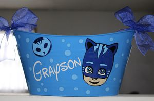 PJ Masks Catboy Easter Basket Personalized for Sale in San Antonio, TX
