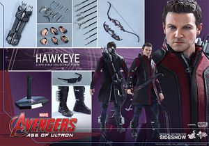 Hot toys 1/6th scale age of ultron Hawkeye for Sale in Sacramento, CA