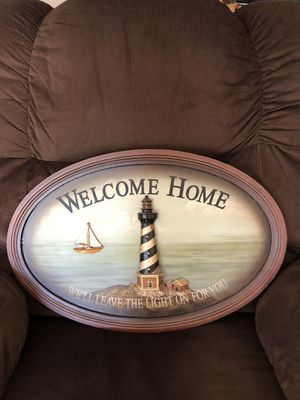 Nautical Welcome Home sign for Sale in Norfolk, VA
