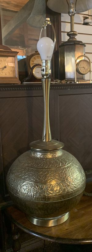 Vintage Gold Lamp for Sale in East Los Angeles, CA