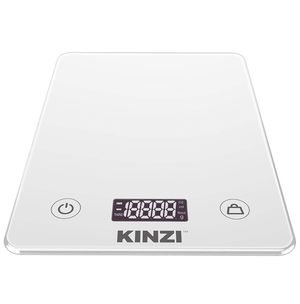 Kinzi Digital Touch Kitchen Scale-Tempered Glass in Clean White for Sale in Phoenix, AZ