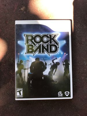 Rock Band for Wii for Sale in Everett, WA