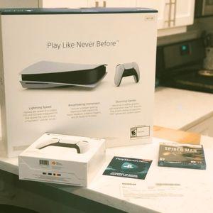 PS5 PLAYSTATION 5 Ultra HD Blu-Ray Disc & NBA 2K21 for Sale in Lakebay, WA