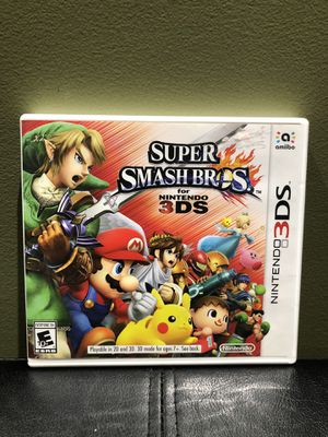 Nintendo 3DS Super Smash Bros Game for Sale in Bethlehem, PA