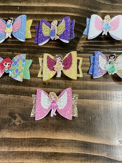 Girls Princess Hair Bows for Sale in Algonquin,  IL