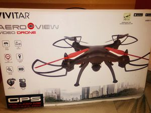 Vivitar drone gps follow me technology (aero view) for Sale in Sacramento, CA