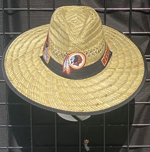 Washington Redskins straw hat (I also have other team) same day shipping if paid before 3pm for Sale in Capitol Heights, MD