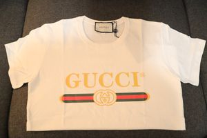Gg t-shirt cotton 100% good quality come with tags never worn GG size M for Sale in Jersey City, NJ