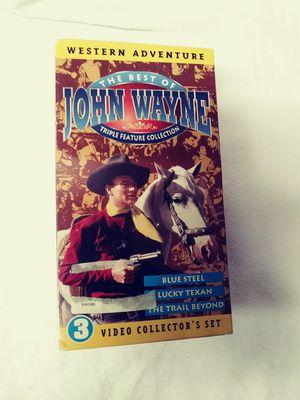 John Wayne VHS New Collectors Set for Sale in Tampa, FL
