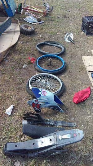 Bmx peddle bike parts for Sale in Stronach, MI