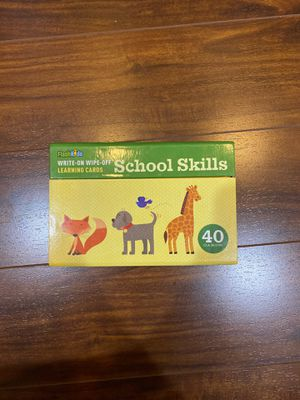 Learning School Skills - Dry Erase for Sale in Oregon City, OR