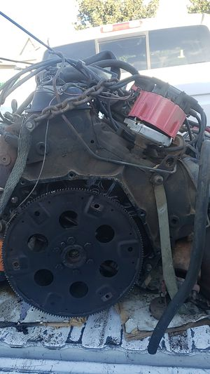 454 big block 7.4 from rv with transmission for Sale in Stockton, CA