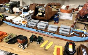 Lego Maersk cargo ship for Sale in Raleigh, NC
